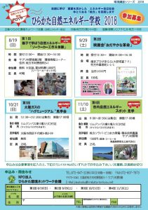 ひらかた自然エネルギー学校 第3回 大阪ガス ハグミュージアム見学会